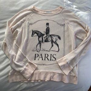 Paris Horse Sweatshirt